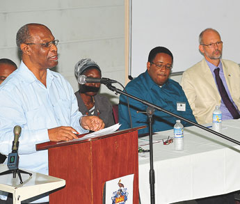 Focus on early warning systems caribbean community for Dr leslie fish