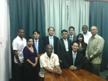 Korean Delegation at the 5Cs