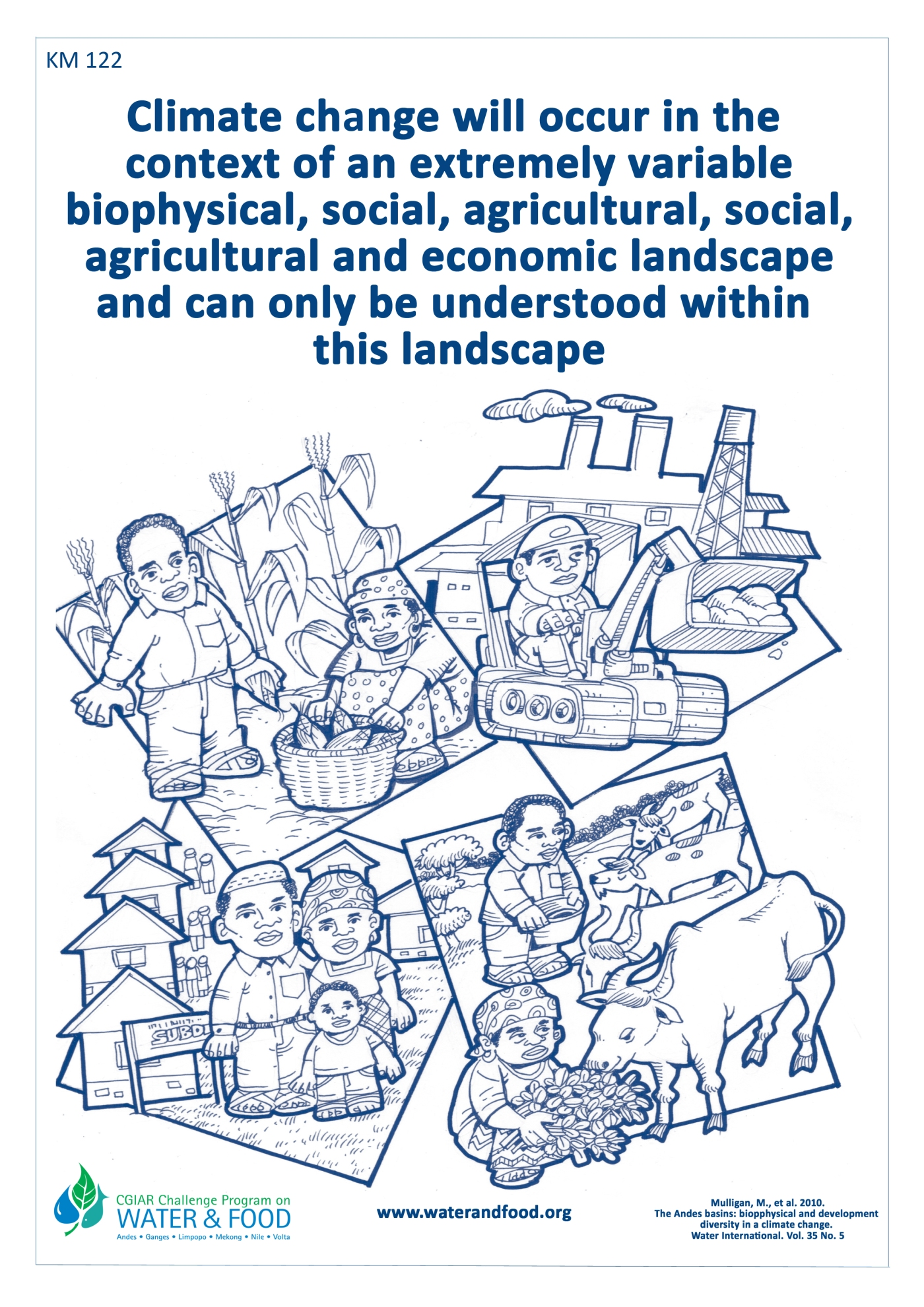 CGIAR Challenge Program on Water and Food Poster Shows the ...