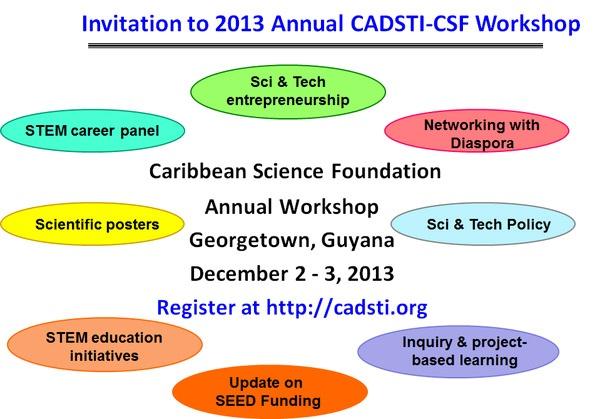 Invitation to 2013 Annual CADSTI-CFS