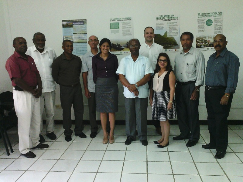 Exec Team and DFID Caribbean Team