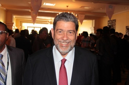 Prime Minister of St. Vincent and the Grenadines Dr. Ralph Gonsalves says the Caribbean would be better positioned to respond to climate change if France rejoins the Caribbean Development Bank. Credit: Kenton X. Chance/IPS