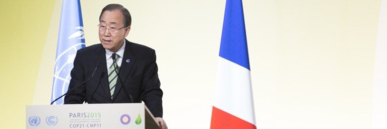 Ban Ki-Moon Closing Address at COP21 Action Day