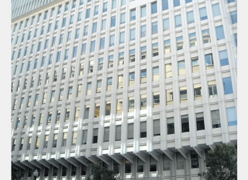 The headquarters of the World Bank Group in Washington, DC, USA.