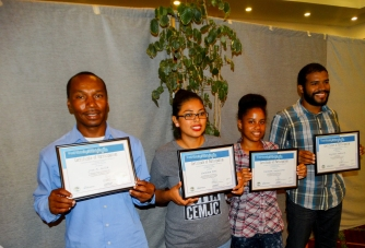 "Winners of ""Water and Jobs"" poetry Competition"