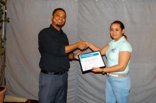 CCCCC receiving certificate