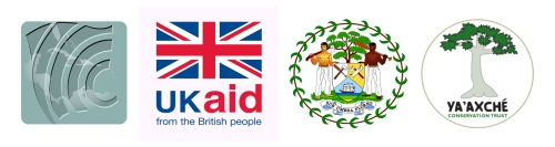 CCCCC Partners in UKDFID sponsored Project include Government of Belize and Ya'Axche Conservation Trust