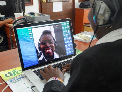 video conferencing - facetime