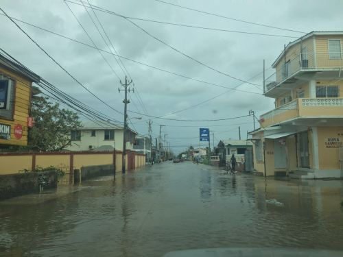 Flooding in Belize City after Hurricane Earl Photo Credit: Jose Sanchez