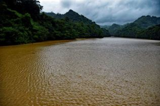 Roseau Dam full to the brim. Photo Credit: Horst Michael Vogel