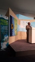 Dr. Kenrick Leslie, Executive Director of the Caribbean Community Climate Change Centre (CCCCC)